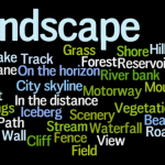 How to describe landscapes